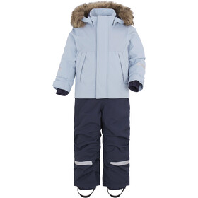 DIDRIKSONS Tirian 2 Coverall Kinderen, cloud blue